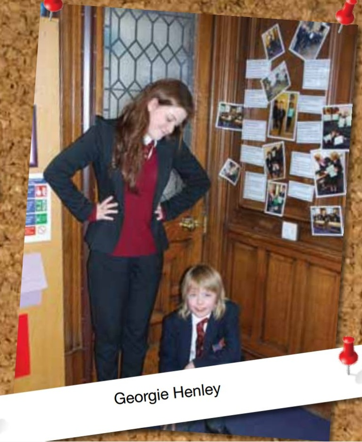 Georgie Henley gives a Narnia acting lesson to Junior pupils at Bradford Grammar School - Spring 2012