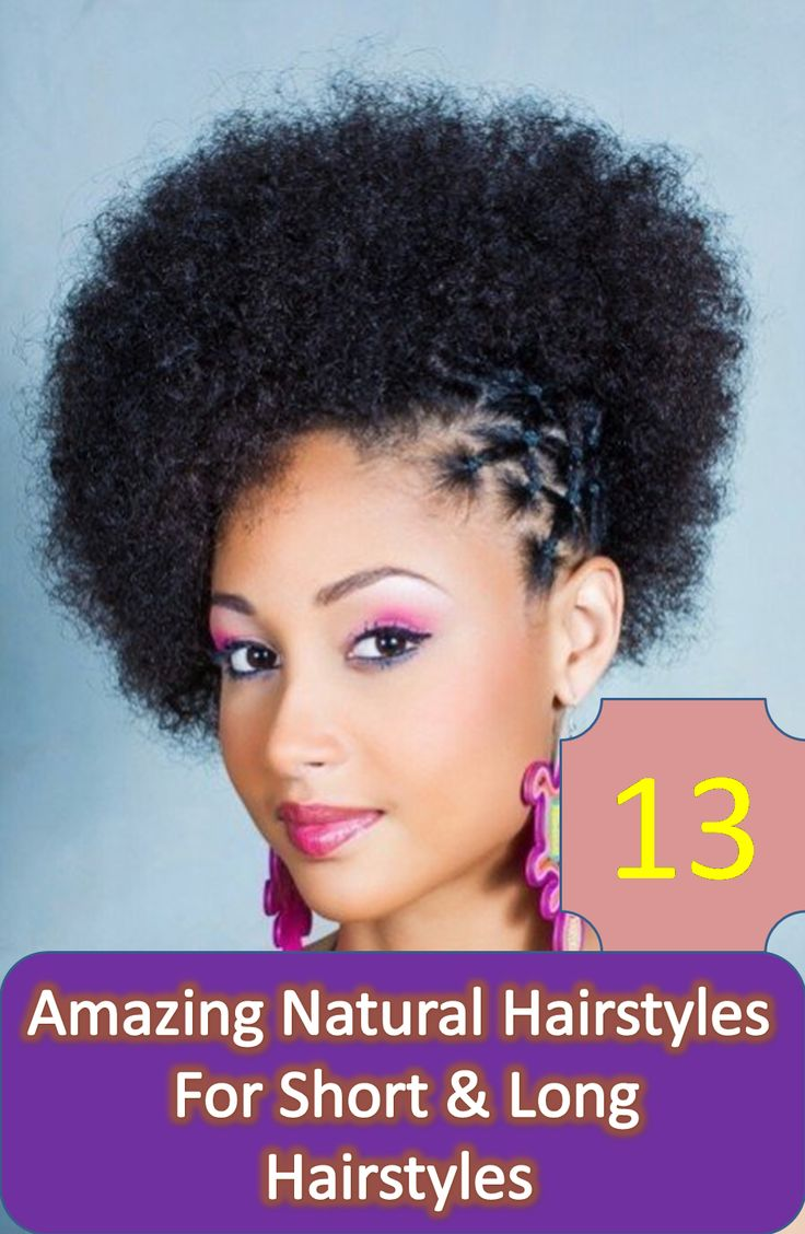 Natural is always better and if it's about hair then this is the best option. It's not either difficult to style or not enough difficult to manage. Moreover, it will protect your hair from any kind of damage like roughness, hair fall or dull look.Discover more: natural hairstyle for short hair, natural hairstyle for black hair, natural hairstyle for kids.