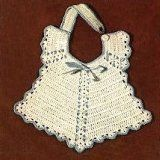 Just one of many free Baby Bibs to Crochet. http://www.antiquecrochetpatterns.com/crochet-baby-bib-patterns.html