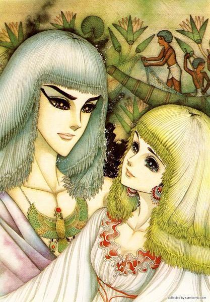 ..Ouke no Monshou (1976) by Chieko Hosokawa