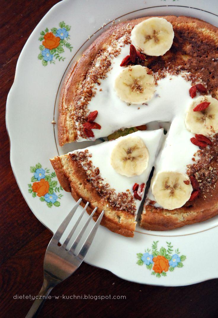 Moje Dietetyczne Fanaberie: Razowiec bananowiec