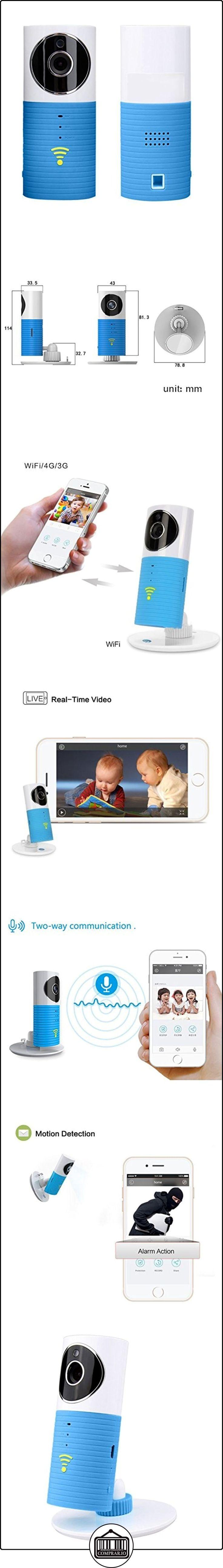 """Mengshen® Smart Wireless Baby Monitor Cámara """"Clever Dog"""" Wifi Vídeo del bebé con la visión nocturna P2p grabación de video de dos vías Apoyo TF Talk detección de movimiento para Iphone Ipad Android Smartphone y Tablets (no puede trabajar con PC) MS-WH19  ✿ Vigilabebés - Seguridad ✿ ▬► Ver oferta: http://comprar.io/goto/B01HHNC13Q"""