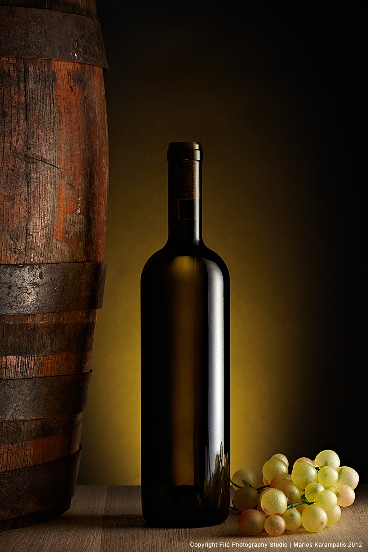 Concept shoot: White Wine Bottle