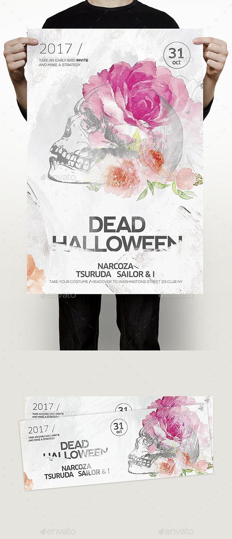 Halloween Flyer Fashion Brand Erkalnathandedecker