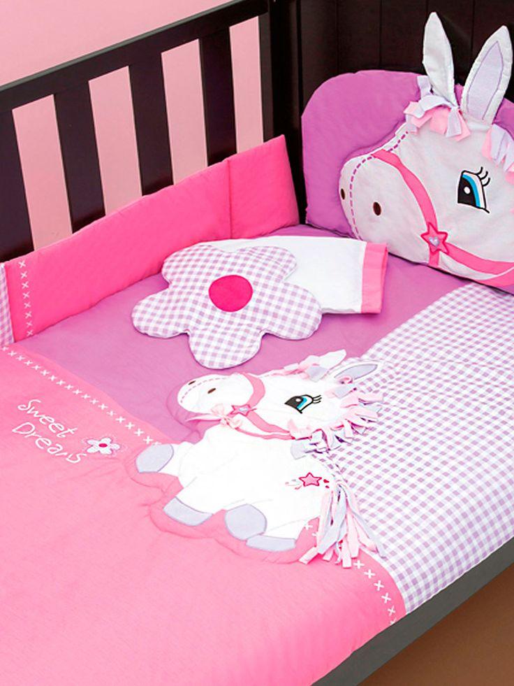 Adquiere en www.bebitos.mx productos para habitación #chiquimundo #saquito #dormir #sueño #frio #calientito #bebé #niño #niña #baby #cute #cama #cuarto #decora #decoracion #increible #lindo #rosa #pony