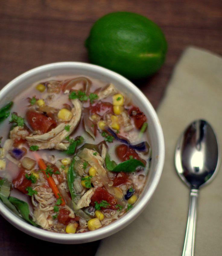 This is a copycat recipe for Panera's Southwest Chicken Tortilla Bowl. It's as close as it gets for the home cook, to recreate with ease.