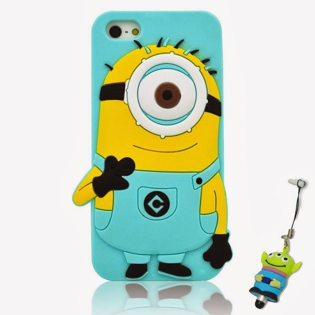 Cute minion iPhone case gr8 for kids or Young Teenagers and is safe and protected also u can get it at EBay.com or Amazon.com or Snapdral.com for more cheaper and better deals