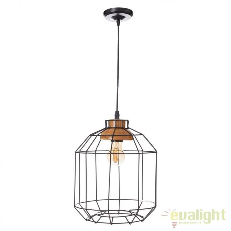 Pendul design industrial Thoko SX-91737 - Corpuri de iluminat, lustre, aplice