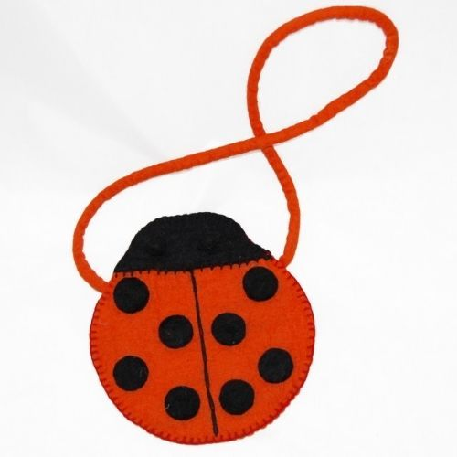 Cute Little Red Lady bug bag