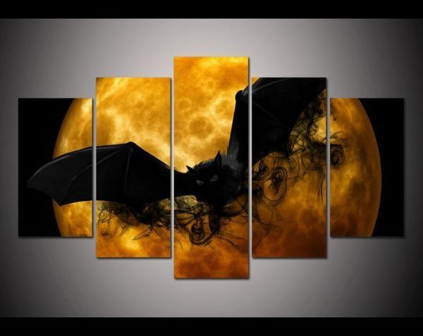 Demon Bat Multi Panel Canvas