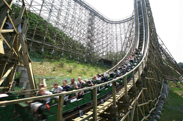 에버랜드 우든코스터 '티 익스프레스' (Everland Wooden Coaster 'T-Express')
