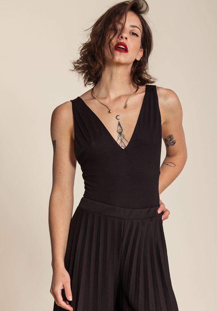 Froideur Noir Bodysuit by myfashionfruit.com