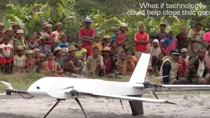 """""""Madagascar has become the latest African country to leverage drones to deliver essential healthcare services to remote rural communities. Clinical lab samples collected from far-flung villages are transported via drones to a central lab. The initiative, a collaboration between the government, Vayu, Inc. and Stony Brook University, will help to leapfrog infrastructural challenges affecting the delivery of healthcare solutions in parts of rural Madagascar."""""""