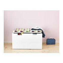 IKEA - VISSLA, Zitkussen voor bank, , Maakt van een bank een zachte, comfortabele zitplaats. Zeer geschikt voor bij de STUVA bank.Blijft door de antisliponderkant stevig op zijn plaats liggen.De hoes is door de rits makkelijk te verwijderen voor de was.