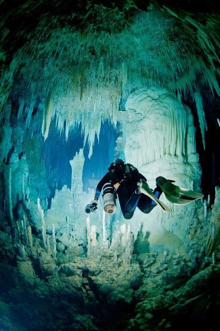 Cave Diving and Technical Diving Adventures www.flowcheck.es Taller de equipos de buceo #buceo #scuba #dive