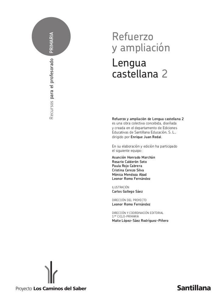 2ºp.refuerzo ampliacion-2lengua.caminos by zpp via slideshare