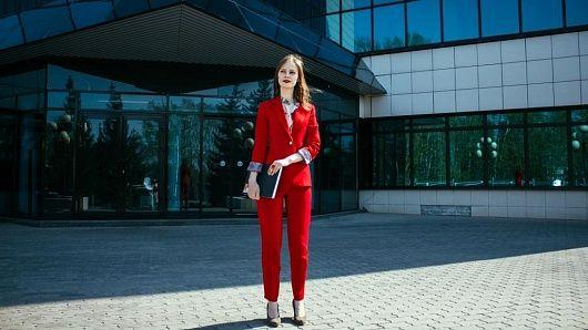 Красный костюм — Mila-Polka
