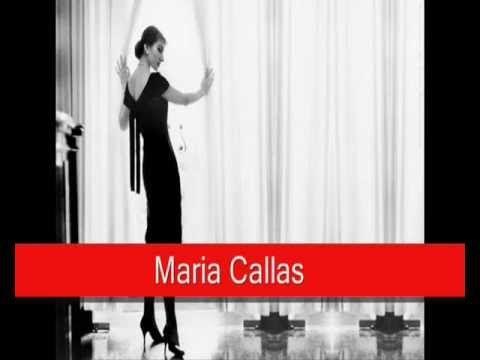 Maria Callas performing Gaetano Donizetti's Lucia di Lammermoor, Mad Scene