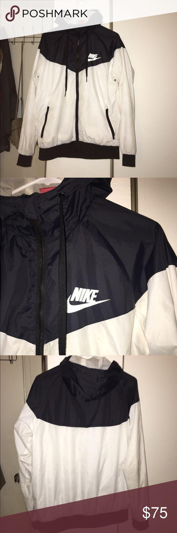 Nike Windrunner Black and white. very light Nike Jackets & Coats