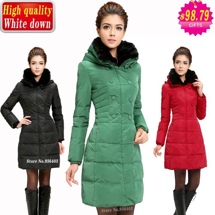 Alibaba グループ   AliExpress.comの ダウン & パーカー からの 1365456002746334冬のジャケット- 強くお勧めし熱い販売の媒体- 長い冬のダックダウンジャケットの毛皮の襟の女性大きい肥厚パーカーtでソリッドカラーホワイトダックダウンコートの女性私達65.89ドル/piece新しい熱い販売の 中の 最高の価格! 冬暖かいジャケットの女性高quqlityダックダウン・パーカーが付いている本当のウサギの毛皮の襟が厚く・ロングコートcasacos発売!