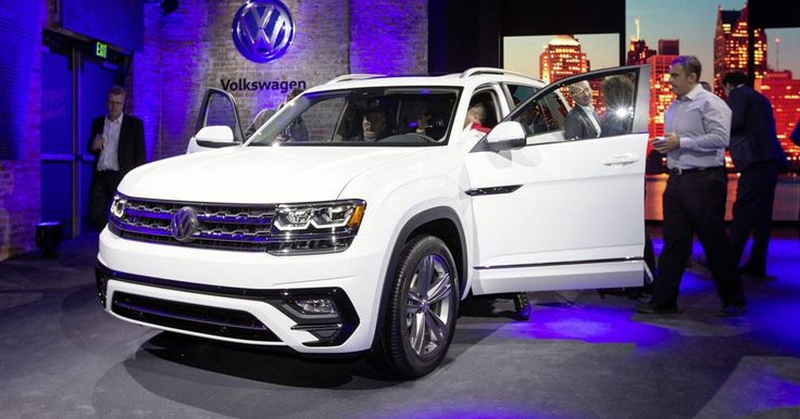 VW Could Go After Honda Pilot With Atlas Pickup, Exec Says #Reports #VW