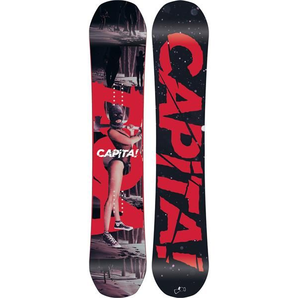 Capita Defenders Of Awesome Snowboard With back-to-back Transworld Good Wood Awards, a Snowboarder Mag Best-Of-Test Award, and other accolades in multiple publications, this highly acclaimed series had proven itself to be one of the best in the game.