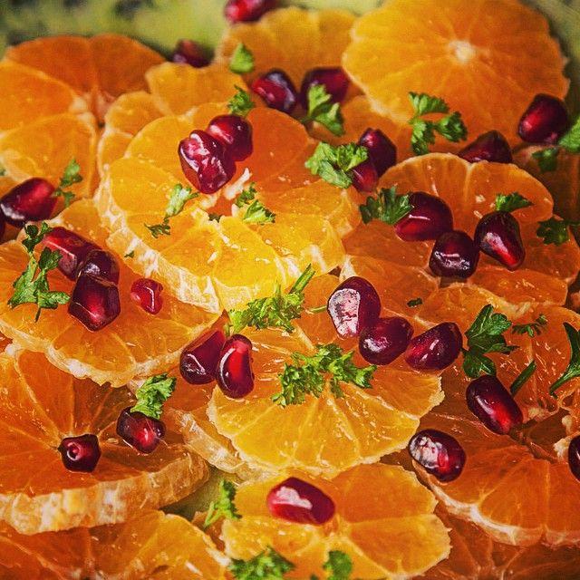 Citrus and pomegranate salad recipe raw vegan vitamins and vegans forumfinder Choice Image