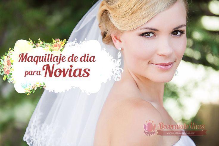 Look de maquillaje de día para novias | Decoración de Uñas - Manicura y Nail Art