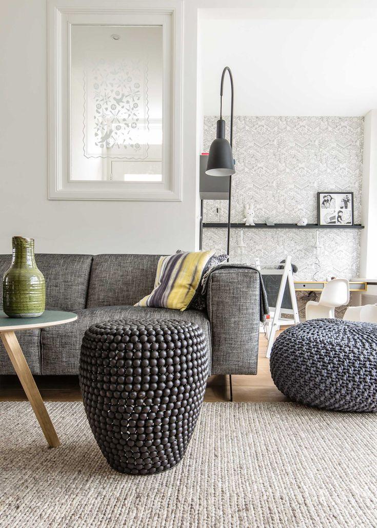 Een woonkamer vol naturelle kleuren in aflevering 6 | Styling Fietje Bruijn | Fotografie Barbara Kieboom