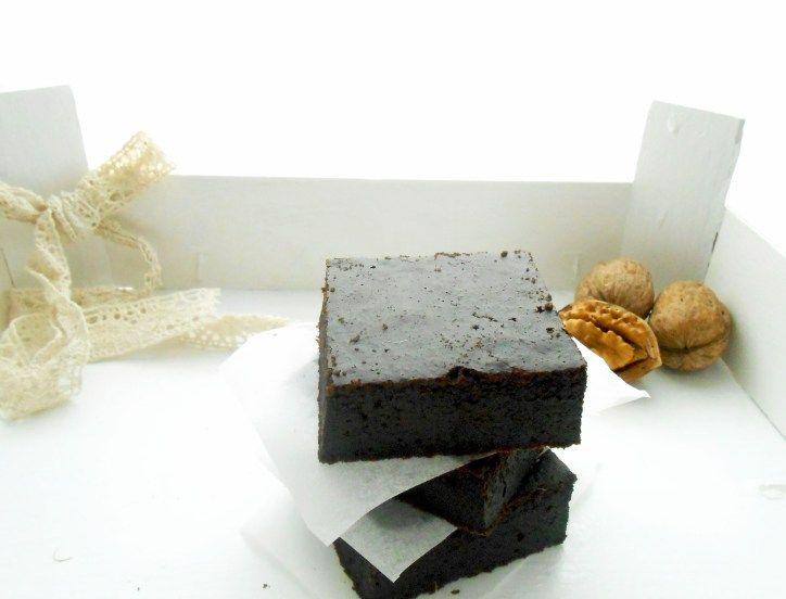 Brownies al cioccolato e noci