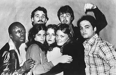 The original Saturday Night Live cast (minus Chevy Chase)