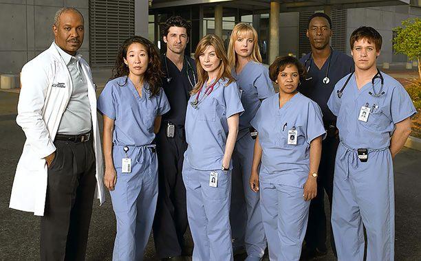 Original Greys Anatomy cast
