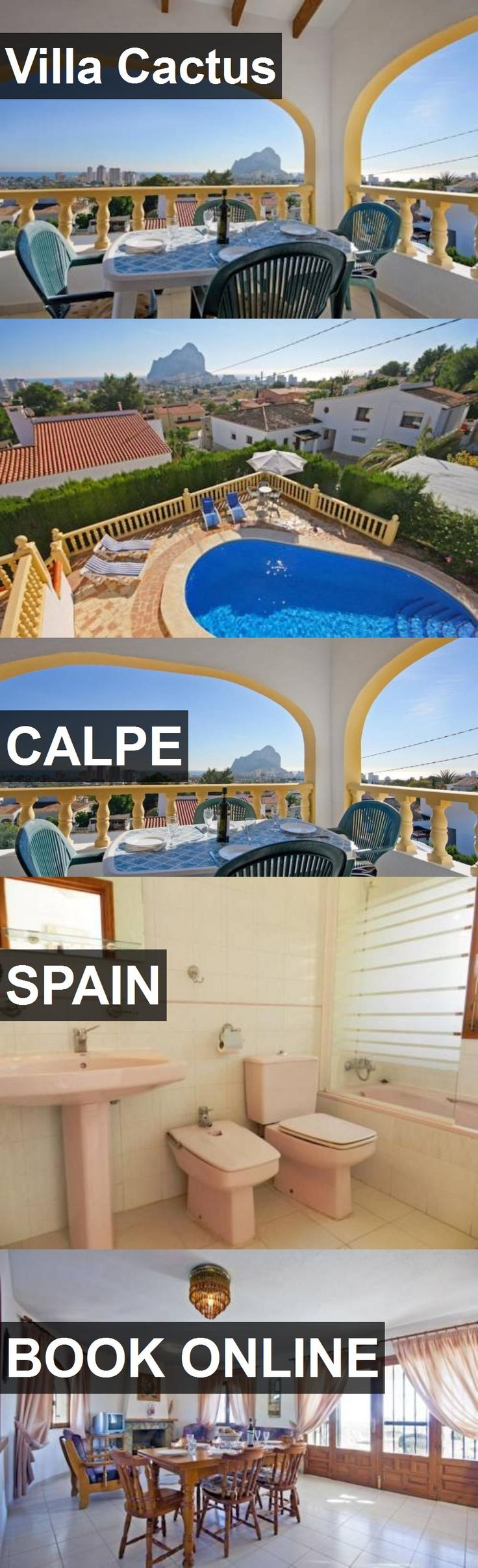 Hotel Villa Cactus in Calpe, Spain. For more information, photos, reviews and best prices please follow the link. #Spain #Calpe #travel #vacation #hotel