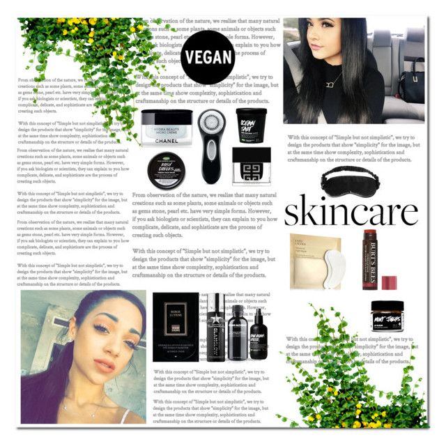 """Summer Skincare"" by xxxjazzyxxx01xxx on Polyvore featuring beauty, SkinCare, Clarisonic, Serge Lutens, Grown Alchemist, GlamGlow, Chanel, Givenchy, Slip and Estée Lauder"