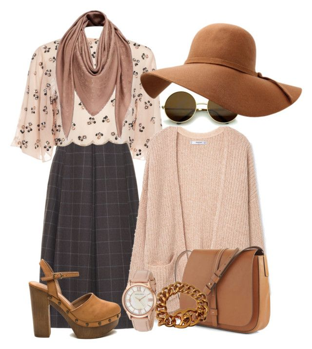 """""""Vintage style"""" by hielyaamelia on Polyvore featuring LUISA BECCARIA, MANGO, Gap, Chanel, Anne Klein, Louis Vuitton and vintage"""