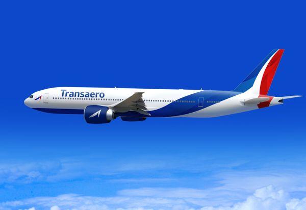 Transaero airlines rebranding concept by Pit Palmer, via Behance