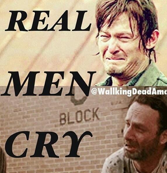 The Walking Dead tears  #thewalkingdead