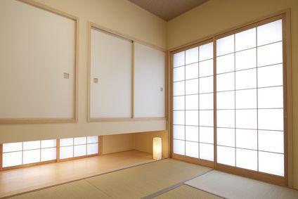 L'éclairage de la pièce est un élément essentiel dans la décoration japonaise.