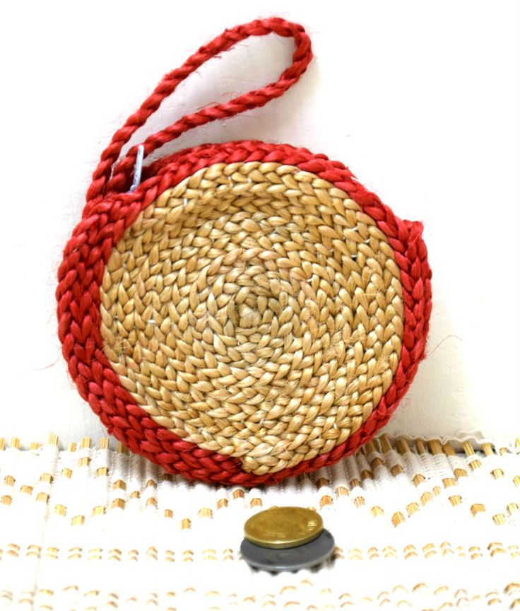 #Jute #coinpouch #craftsandlooms #handmadeinindia - shop today at craftsandlooms.com