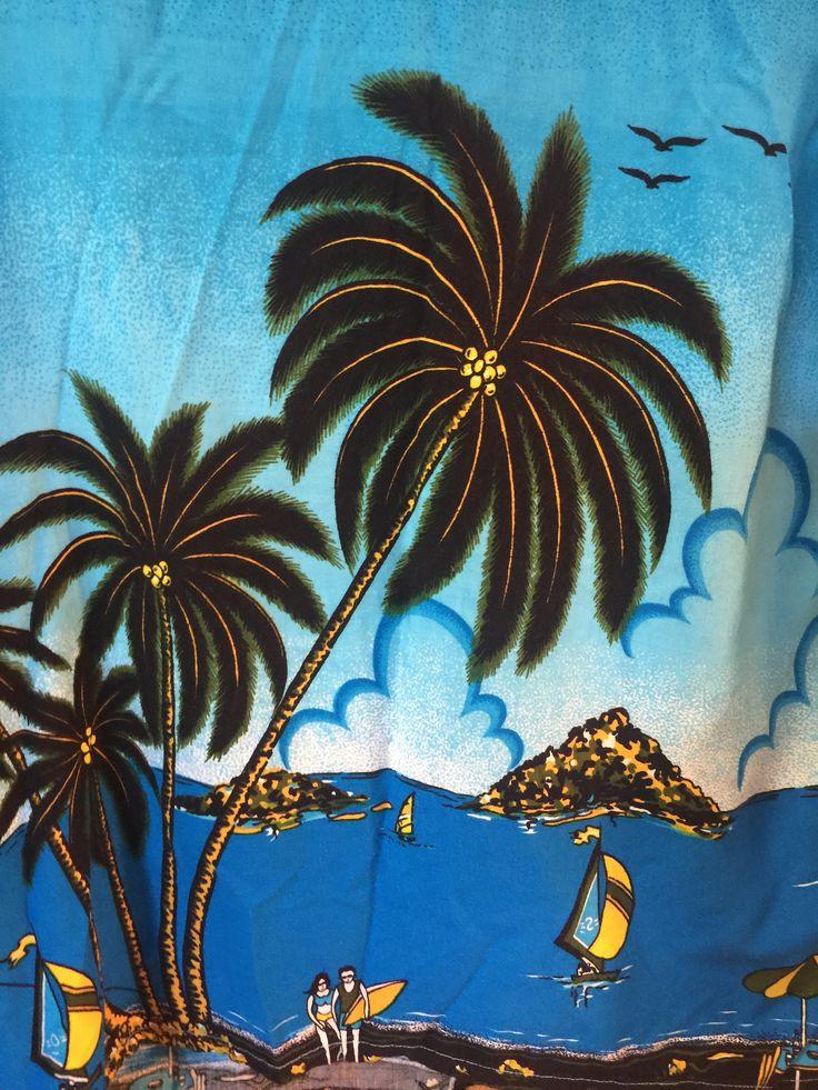 Quicksilver Tropical Hawaiian Button Down, Short Sleeve ...