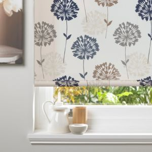 #Colours Amberlee Corded Cream Roller Blind #Colours Amberlee Corded Cream Roller Blind (L)160cm (W)90cm.This floral cream roller blind from the Colours Amberlee range has an attractive dandelion design and is suitable for bathrooms and kitchens. (Barcode EAN=5052931618774)