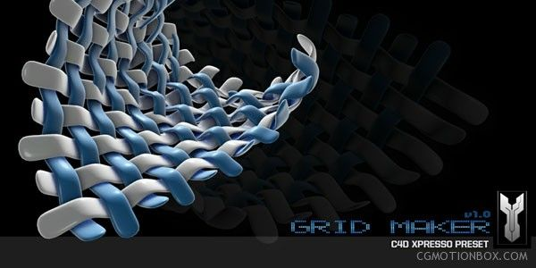 Grid Maker A Free Plug-in for Cinema 4d