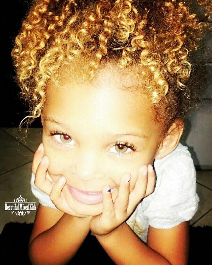 Kaliya Ross – 4 ans • Afro-américaine et Portoricaine ❤❤ SUIVEZ @beautif …   – cuteeeeee