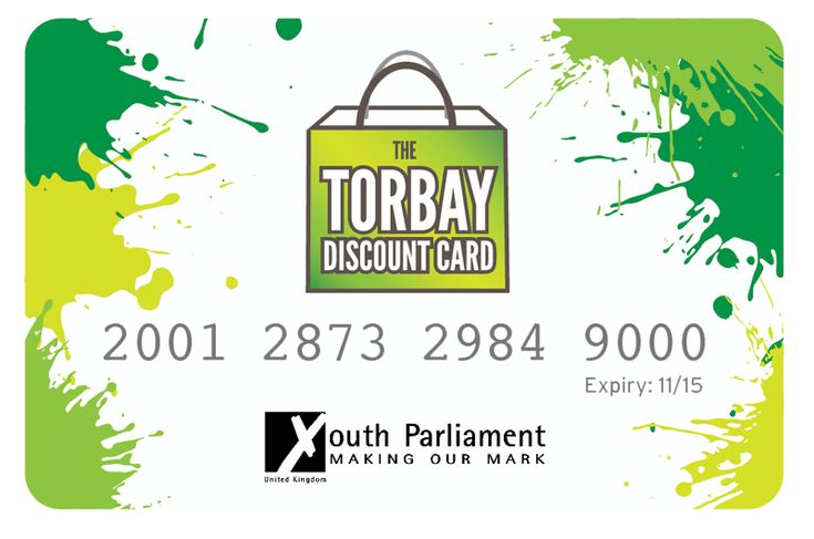 Introducing the Torbay Youth Discount Card...
