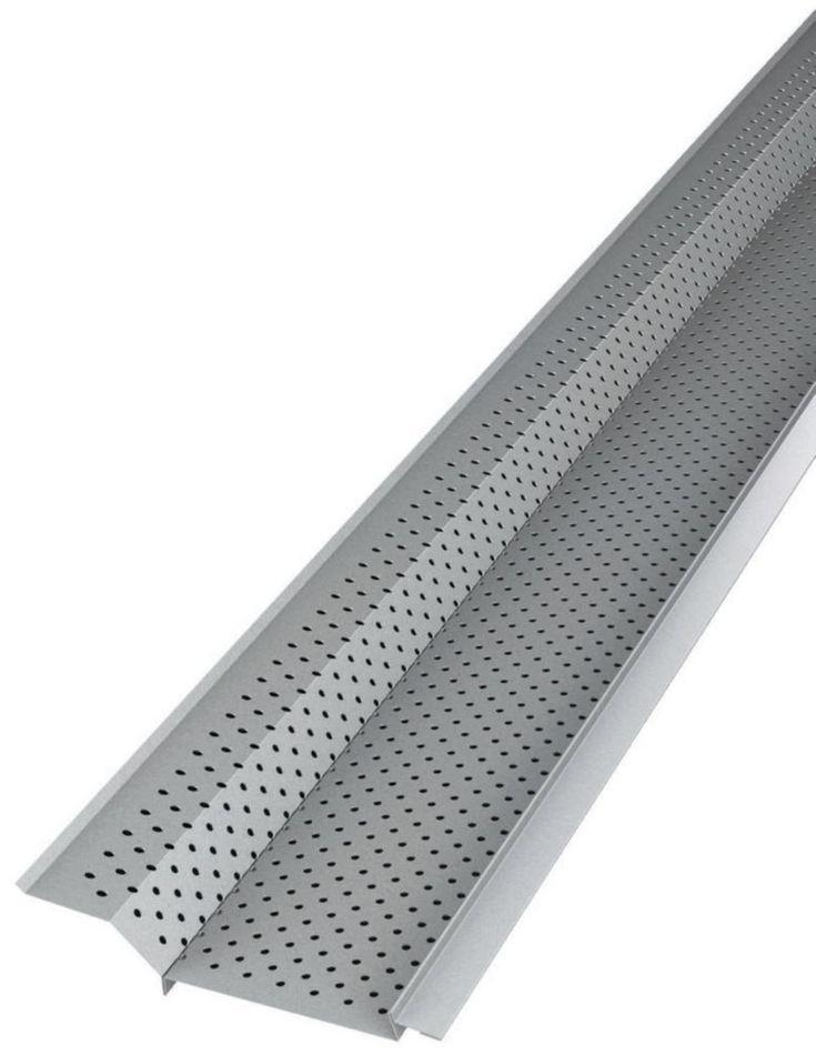 Home Depot 5 Quot Aluminum Gutter Guard 4 X 5 Pieces