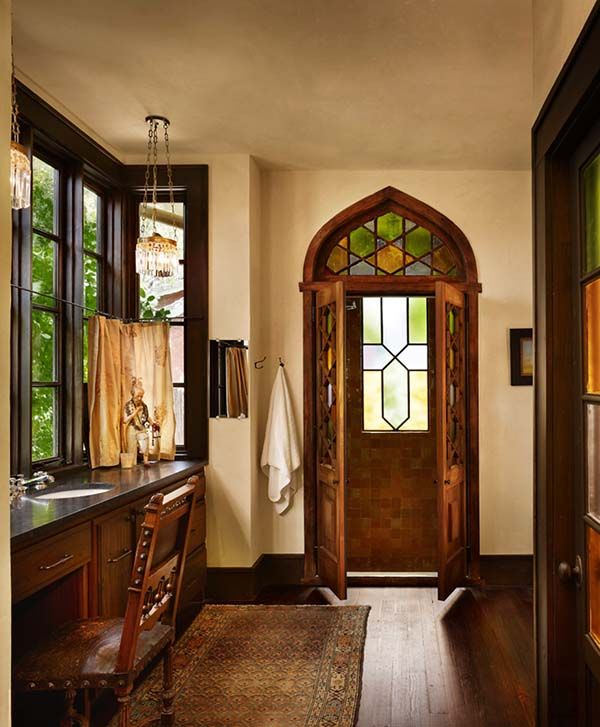 195 best spanish revival bathrooms images on pinterest for Spanish colonial bathroom design