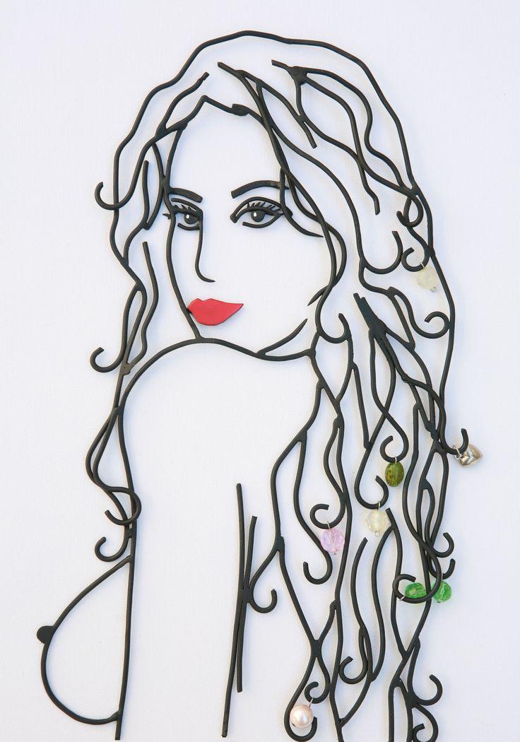 wire art...#wire #wireart #girl #beauty #greece #greekart #metalsheet #nude