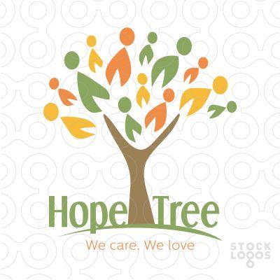 Hope Tree Logo by MW Creative Design \ Maria Williams