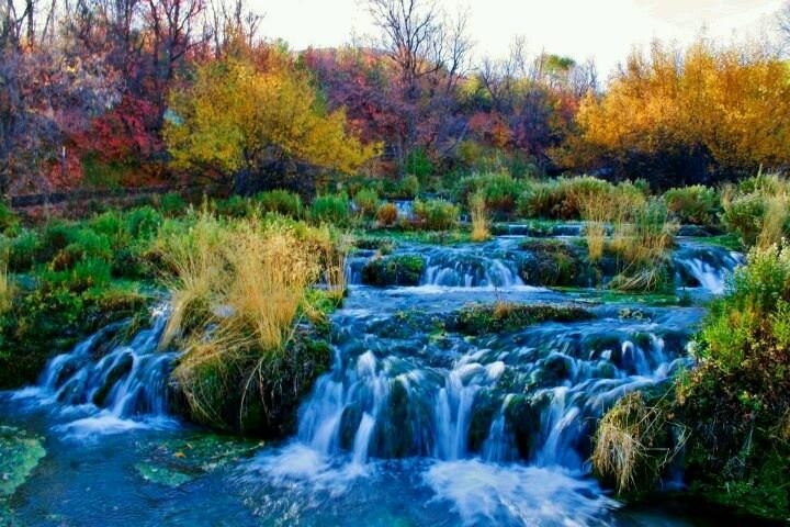 Cascade Springs Alpine Loop Utah A World Of Color Pinterest Spring And Utah