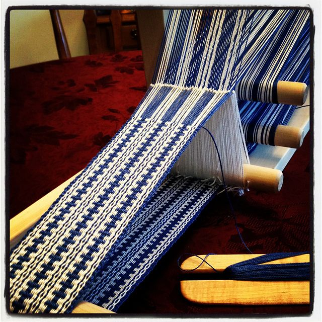 Ravelry: mozartnut's Inkling Blue & White  super pretty!